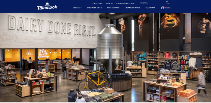 Tillamook Front Page eCommerce Integration to Counterpoint SQL 1