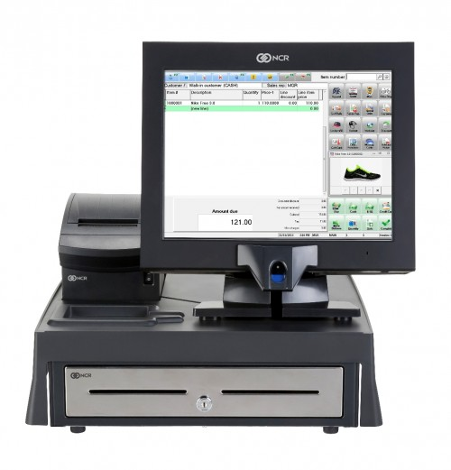 ncr p1530 counterpoint retail with cash register