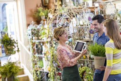 counterpoint retail customers with mobile pos