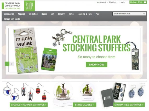 central park conservancy ecommerce counterpoint online 2