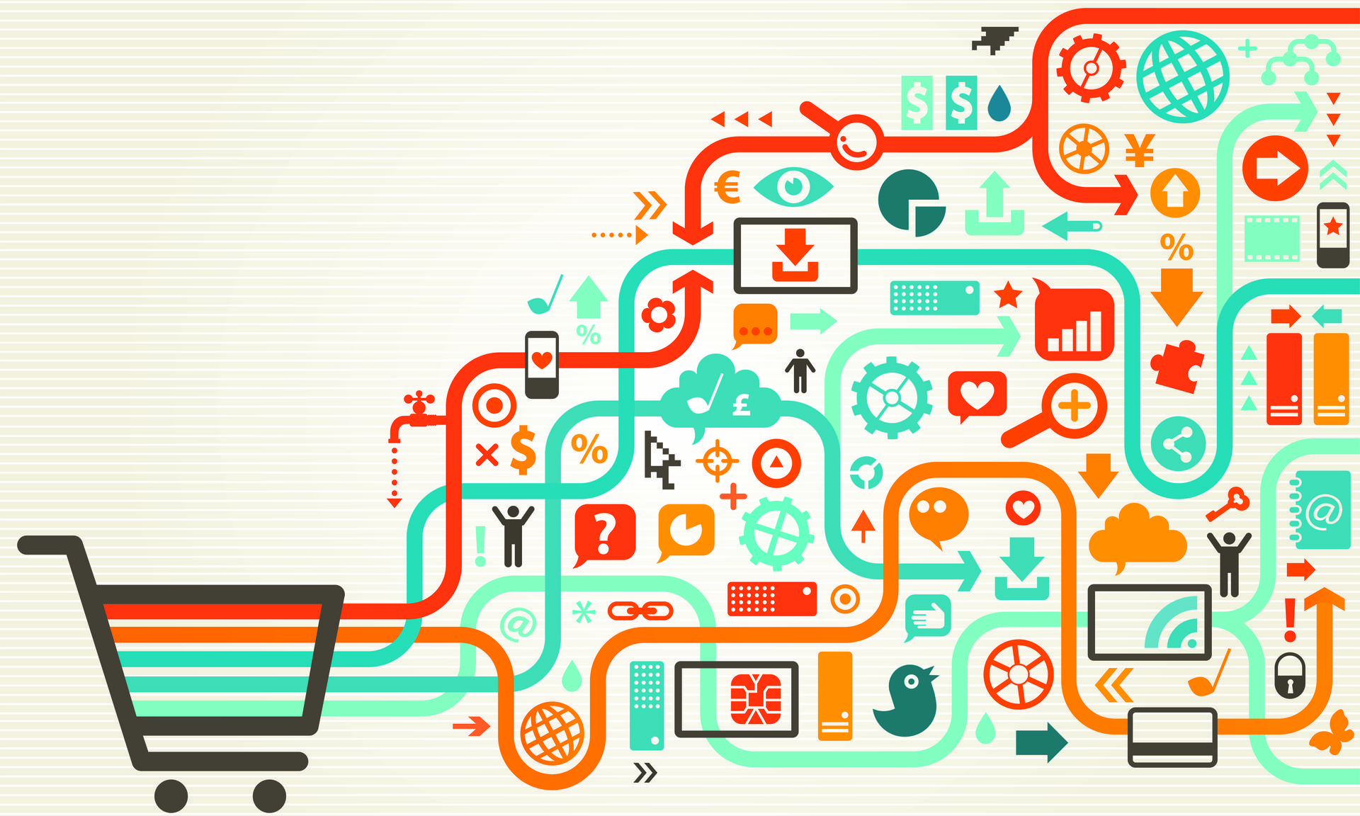 shopping cart ecommerce integration to counterpoint